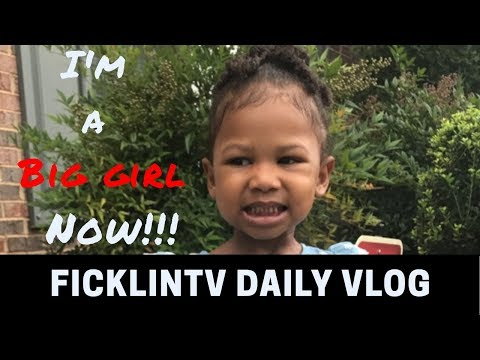 CALI GOES TO SCHOOL!!! | FicklinTV Daily Vlog August 14, 2017