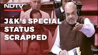 Article 370 On Kashmir's Special Status To Go, Says Amit Shah