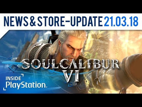 Geralt von Riva als Gastcharakter in Soul Calibur VI! | PlayStation News & Store Update