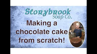 Making Chocolate Cake from Scratch!