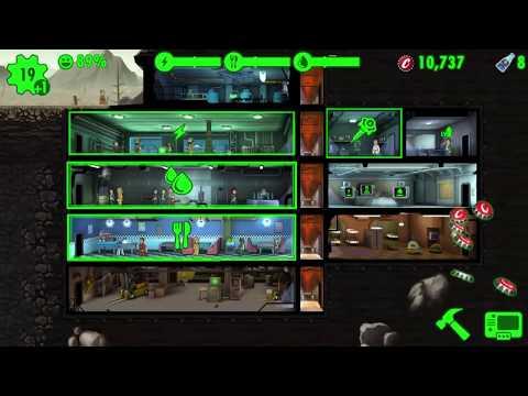 Открываю ланчбоксы | Fallout Shelter #1