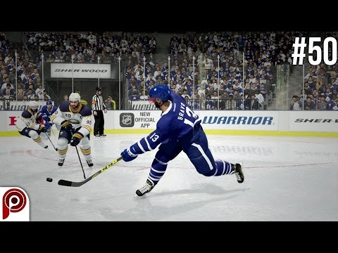 NHL 17 Be A Pro - Toronto Maple Leafs vs Buffalo Sabres Ep.50