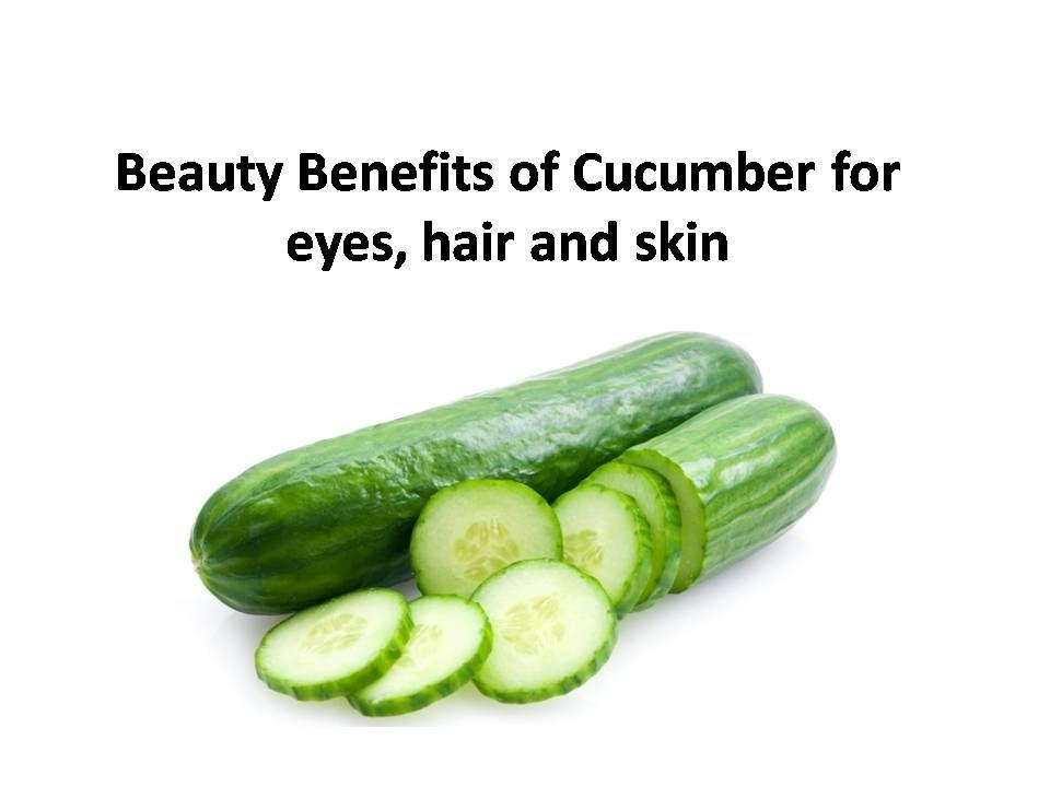 Confirm. cucumber facial benefits