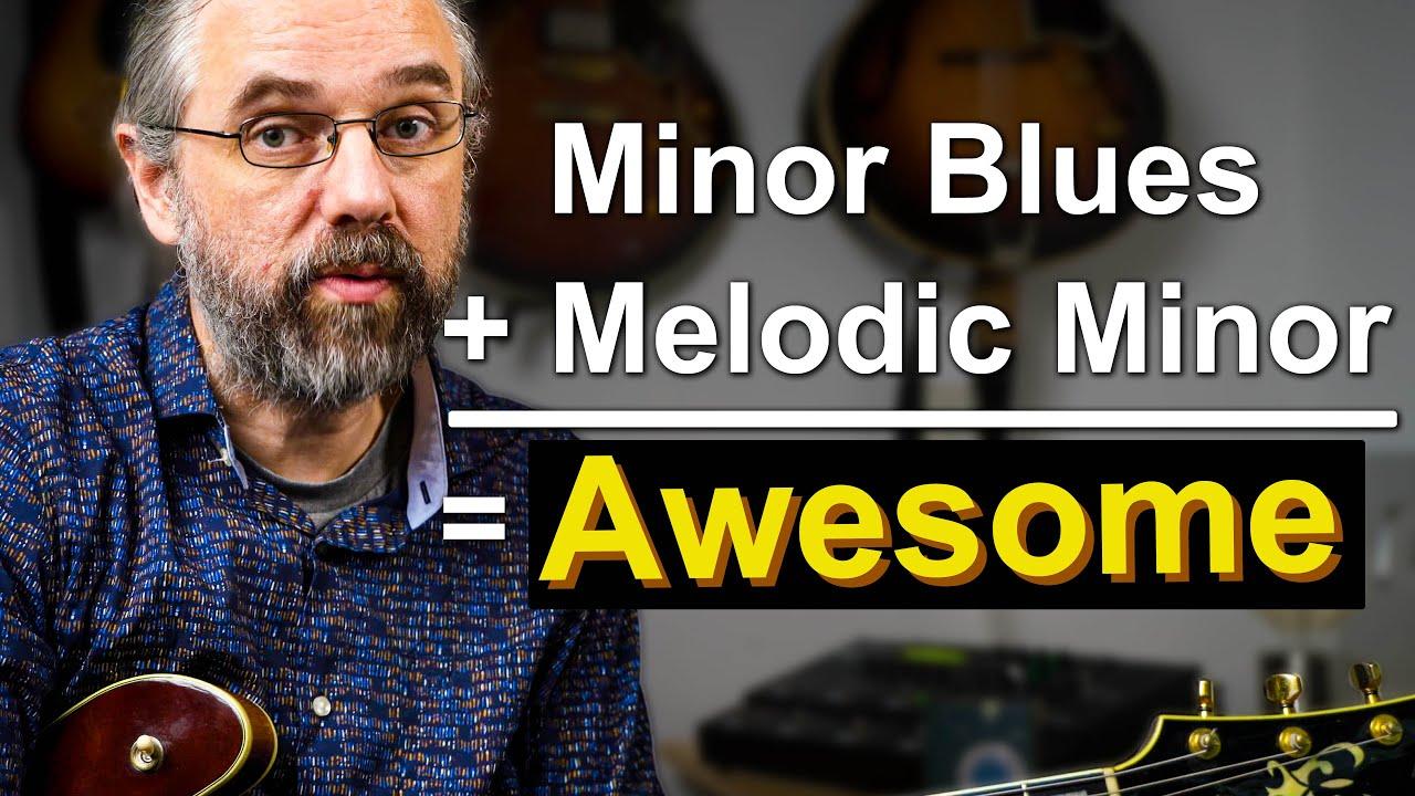 Melodic Minor - How To Make Minor Blues Sound Amazing