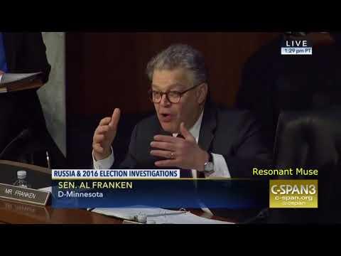 Al Franken Grills Facebook General Counsel About Russian Political Ads