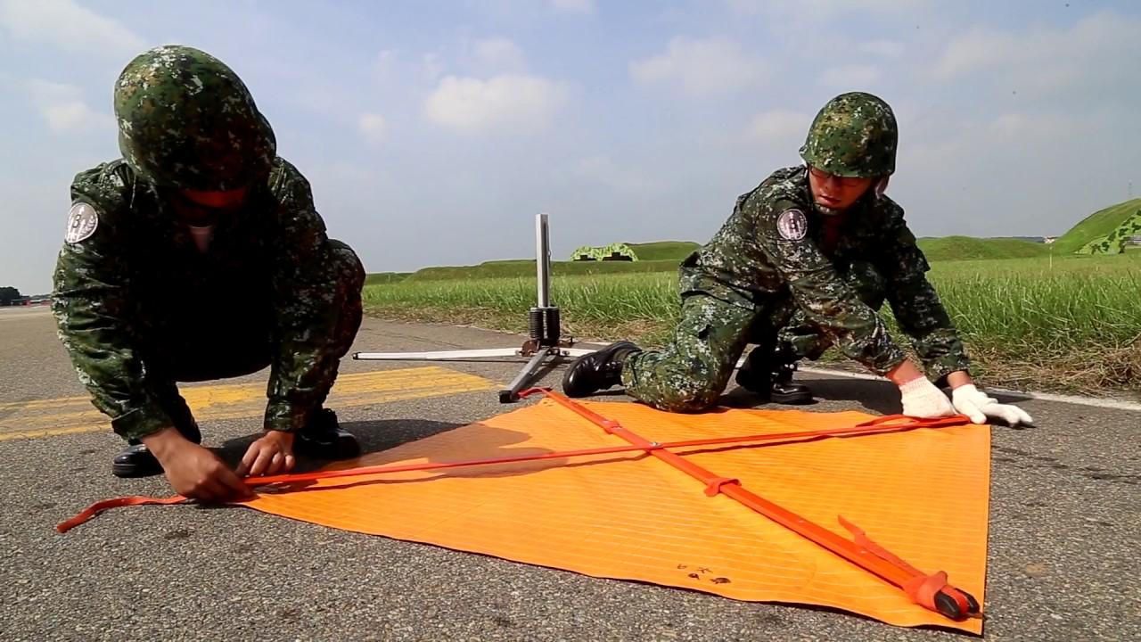 空軍3主力戰機短場起降訓練影片(空軍司令部提供)
