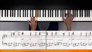 Bedrich Smetana - Die Moldau (flowkey Piano Tutorial)