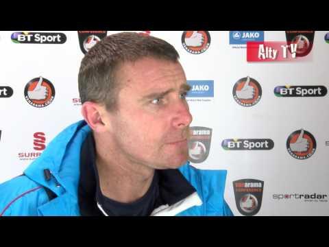 Robbie Lawton - Gainsborough Post-Match Interview