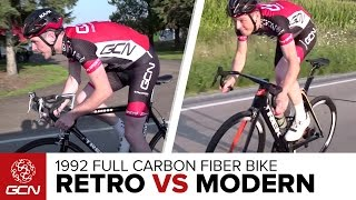 1992 Vs 2016: How Does One Of The First Full Carbon Fiber Bikes Ride? | Retro Vs Modern