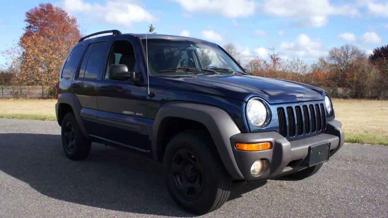2002 jeep liberty sport for ~custom wheels~auto~power locks