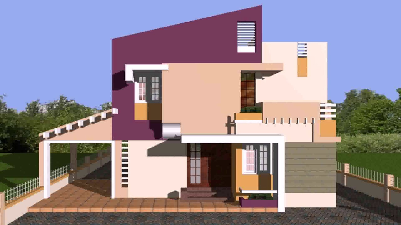 West Facing House Plans As Per Vastu In India - YouTube