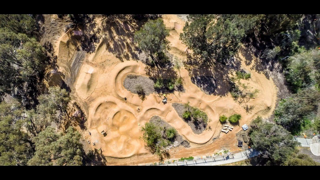 carramar bmx jump park tc trail designs city of wanneroo youtube