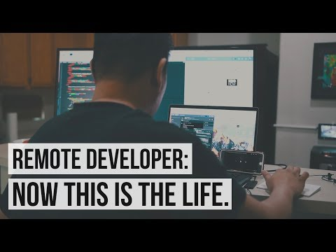 A Day In The Life of a Remote Software Developer| What I Love About It | #devsLife
