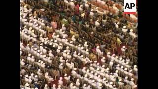 INDIA: INTERNATIONAL NAVY PARADE