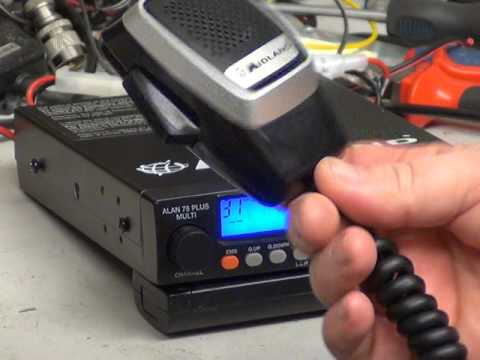Midland 78 Plus Multi Ver6 (UK)(CE) CB radio mobile) - On The Air Test