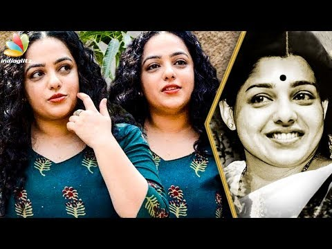 Iron Lady Biopic covers both Jayalalitha's Family Life and Political Playbook : Nithya Menon