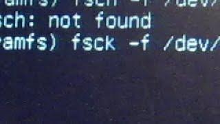 Linux - Fsck to Repair Filesystem