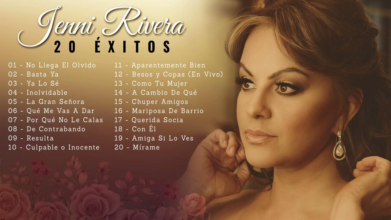 Jenni Rivera - 20 Éxitos