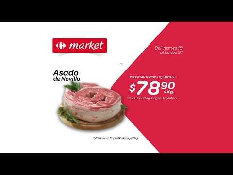 Carrefour Market - Viernes 18 al Lunes 21 de Agosto