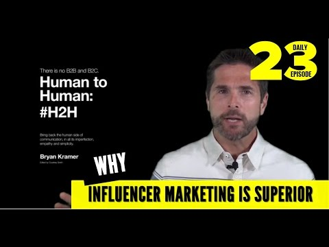 The Secret to Influencer Marketing is Human to Human