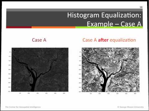 Short introduction to histogram processing