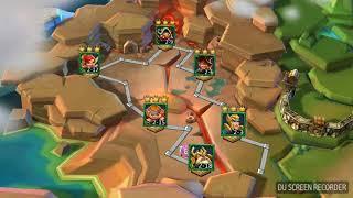 Lords Mobile Elite etapa de heroes