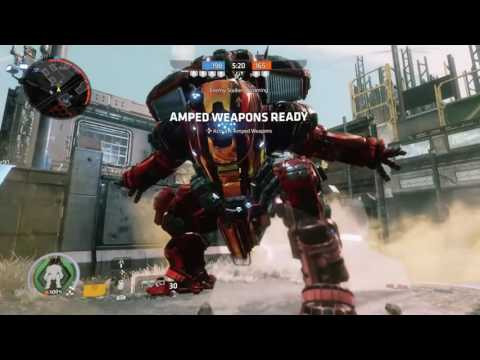 Titanfall 2 SCORCH Nitro Warpaint and Firebrand Nose Art Gameplay-No Commentary