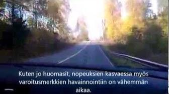 Maantieajo Lohja-Sammatti.