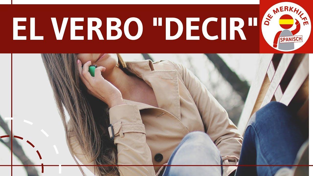 Wortfeld Sagen In Spanisch Wortschatz Ausdruck Verbessern Vokabeln Leicht Lernen