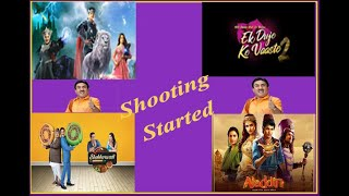 Sab Tv Shooting Started