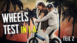 #5 Mit Model auf einem Wheel in Hollywood Teil 2 | Geilnes Test | Slavik Junge