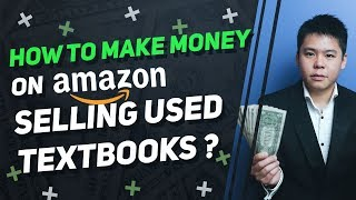 How To Make Money Online By Selling USED TextBooks On Amazon - EASY Way To Profit With A Low Budget