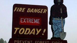 11 napja tombol a kaliforniai erdőtűz