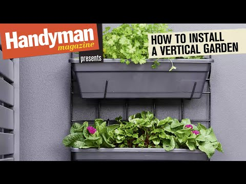 How To Install A Vertical Garden