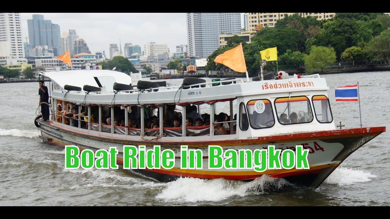 Boat Tour Bangkok Thailand