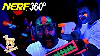 nerf 360° black light edition