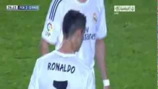 Messi mocks and laughs at Cristiano Ronaldo  For penalty Crazy | Barcelona 2-1 Real Madrid [HD