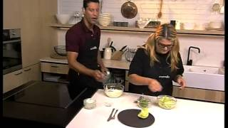 Iceberg Lettuce Wedges With Blue Cheese Dressing On Expresso