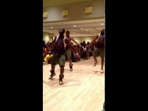 Omega Psi Phi Beta Kappa Chapter Frostburg State University Partywalk competition round 2 2013