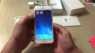 Unboxing iPhone 6 - Abrindo caixa iPhone 6