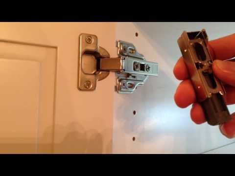How To Install Soft Close Hinge