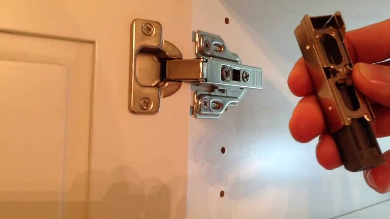 How to install Soft Close Hinge - YouTube