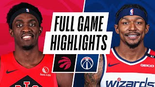 RAPTORS at WIZARDS | FULL GAME HIGHLIGHTS | February 10, 2021