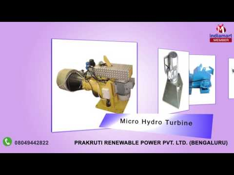 Hydro Power Generation Units By Prakruti Renewable Power Pvt. Ltd., Bengaluru
