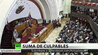 Constituyente de Venezuela allana la inmunidad de cuatro diputados opositores por traición