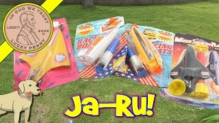 Ja Ru Toys Vintage Kids Novelty Toy Boats, Jet & Rocket Explodes!