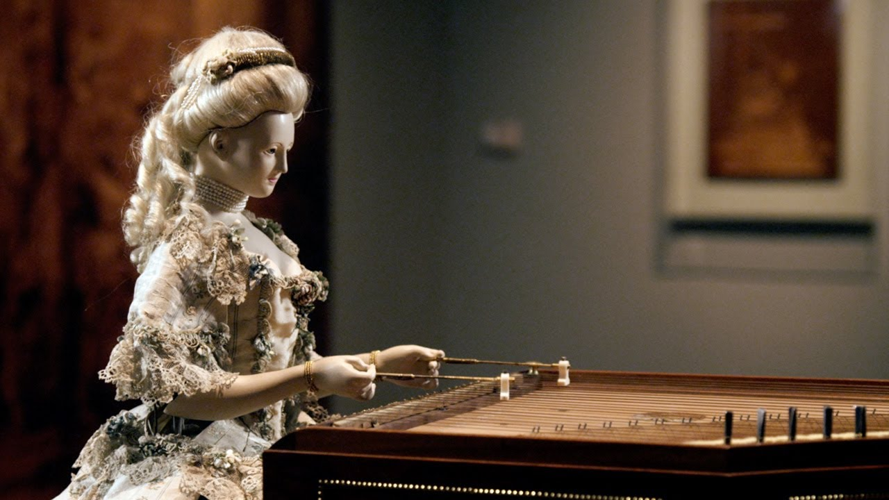 Demonstration Of David Roentgens Automaton Of Queen Marie