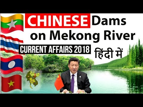 Mekong River nations face the hidden costs of China's dams , China squeezing water of Mekong River