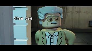 Стен Ли в опасности №4 (около цирка в шахматах) Lego Marvel Super Heroes