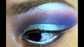 Silver,Purple,hot pink,and cotton candy pink eye Thumbnail